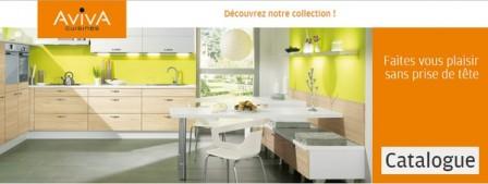 Catalogue frenchimmo for Cuisines aviva avis