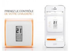 Netatmo thermostat connecté design Starck