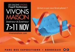 Salon vivons maison du 7 au 11 novembre 2014 bordeaux for Salon vivons
