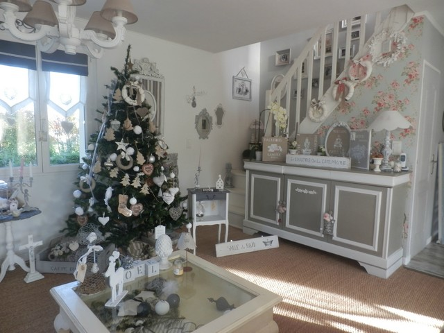 D co et ambiance de no l frenchimmo - Deco noel shabby chic ...
