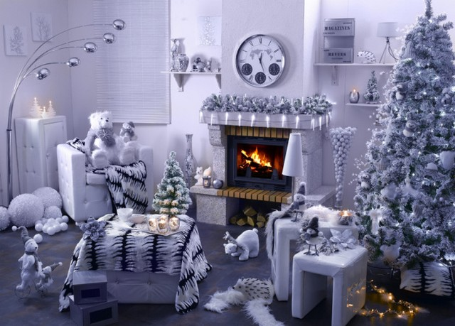 d co et ambiance de no l frenchimmo. Black Bedroom Furniture Sets. Home Design Ideas