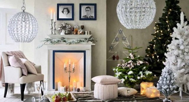 Decor de noel interieur for Decoration jardin interieur