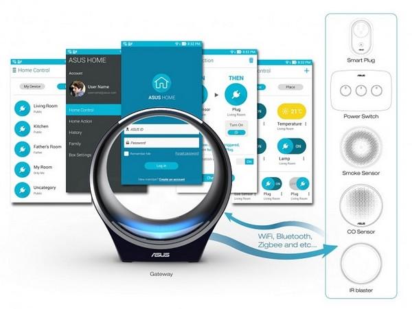 domotique asus smart home system frenchimmo. Black Bedroom Furniture Sets. Home Design Ideas