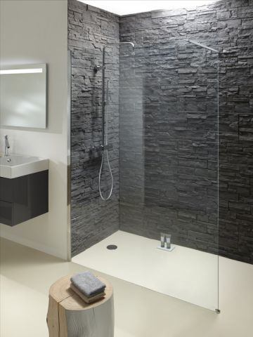 installation d 39 une douche l 39 italienne frenchimmo. Black Bedroom Furniture Sets. Home Design Ideas