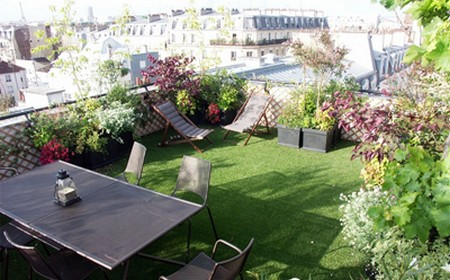 Peut on am nager un balcon ou une terrasse frenchimmo - Comment amenager une terrasse de charme ...