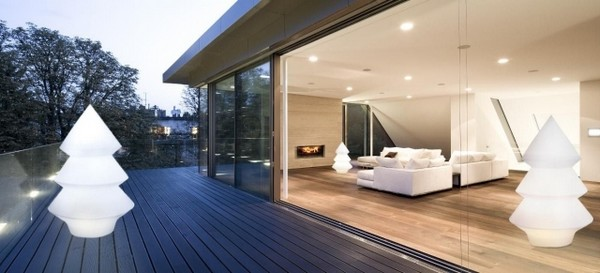 Illuminer votre exterieur avec un clairage design frenchimmo for Design exterieur terrasse