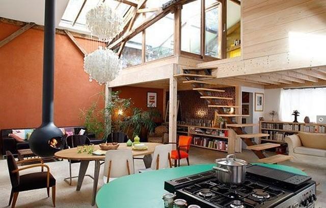gagner de l 39 espace avec une mezzanine frenchimmo. Black Bedroom Furniture Sets. Home Design Ideas