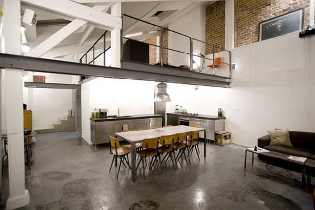 Gagner de l espace avec une mezzanine frenchimmo - Idee deco loft ...