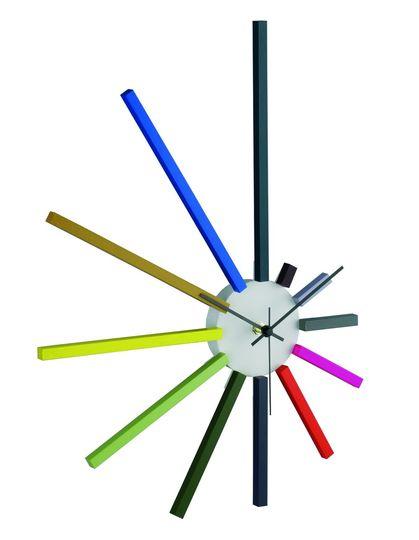 Horloges murales design originales frenchimmo - Horloge design pour salon ...