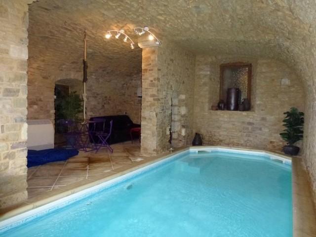 Une piscine int rieure pour se baigner toute l ann e - Gite normandie piscine interieure ...