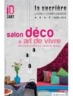 le premier salon d co et art de vivre lyon du 4 au 7 avril 2014 frenchimmo. Black Bedroom Furniture Sets. Home Design Ideas