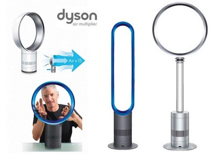 des ventilateurs totalement silencieux dyson cool frenchimmo. Black Bedroom Furniture Sets. Home Design Ideas