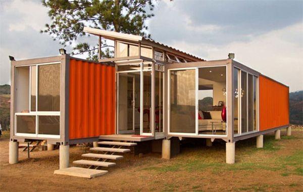 Transformer un conteneur maritime en maison pour 1600 for Acheter une maison pour 10 euros