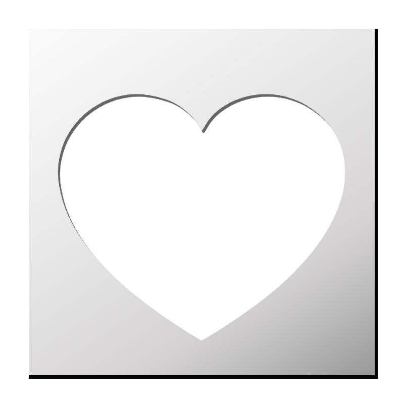 Pochoir Amour/Mariage