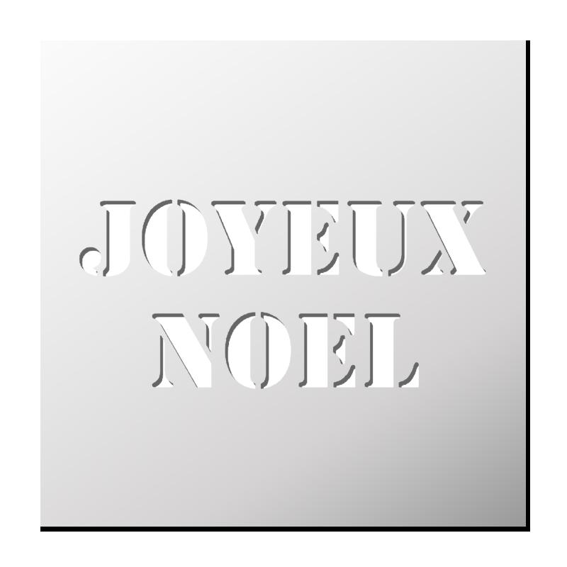 pochoir joyeux noel Pochoir JOYEUX NOEL   FrenchIMMO pochoir joyeux noel