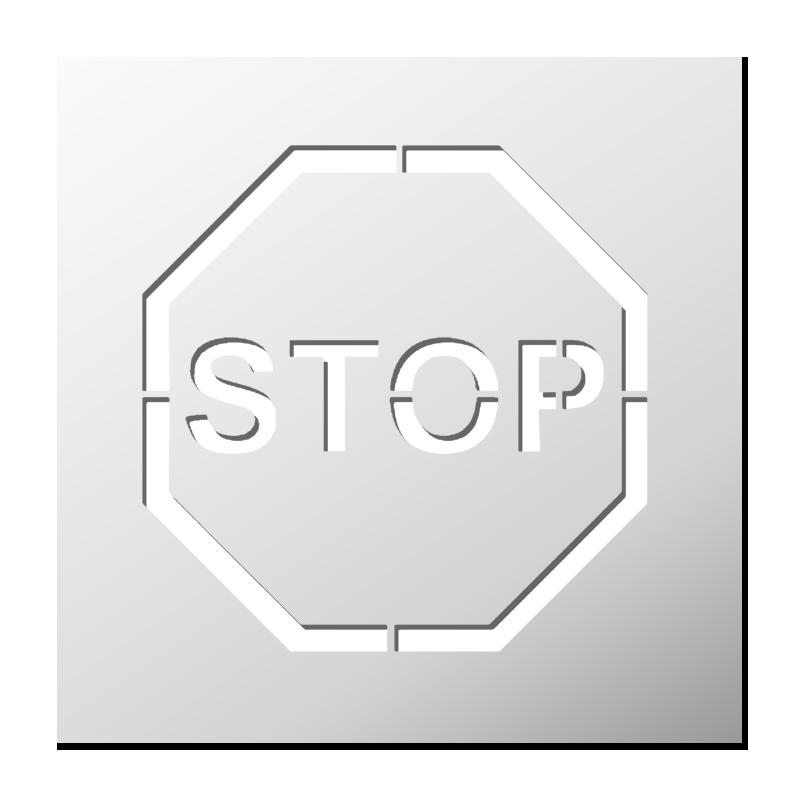 Pochoir Panneaux/Signalétique