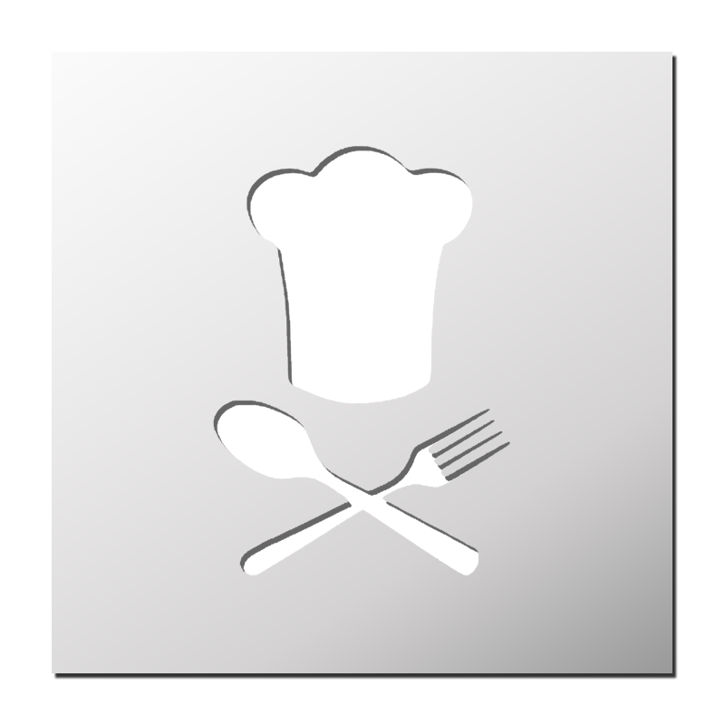 Pochoir chef de cuisine frenchimmo for Pochoir cuisine