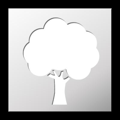 D couvrez un grand choix de pochoirs d co originaux au for Pochoir arbre