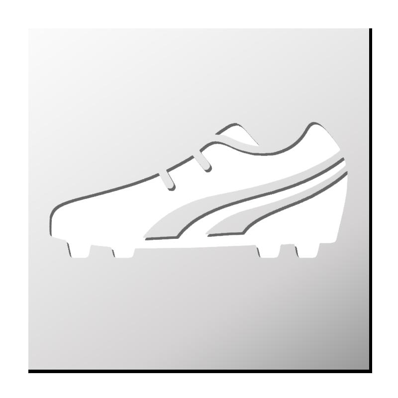 Pochoir FrenchIMMO Chaussure Foot Pochoir Chaussure Foot FrenchIMMO de de qzvwaqZBr