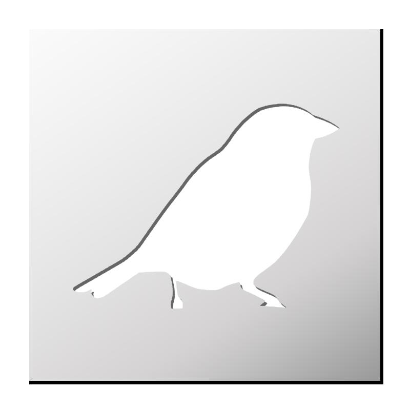 Pochoir oiseau frenchimmo for Pochoir oiseau