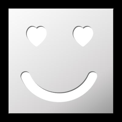 Amour mariage frenchimmo - Smiley noir et blanc ...