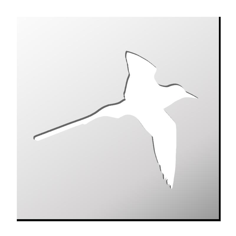Pochoir oiseau tropical frenchimmo for Pochoir oiseau