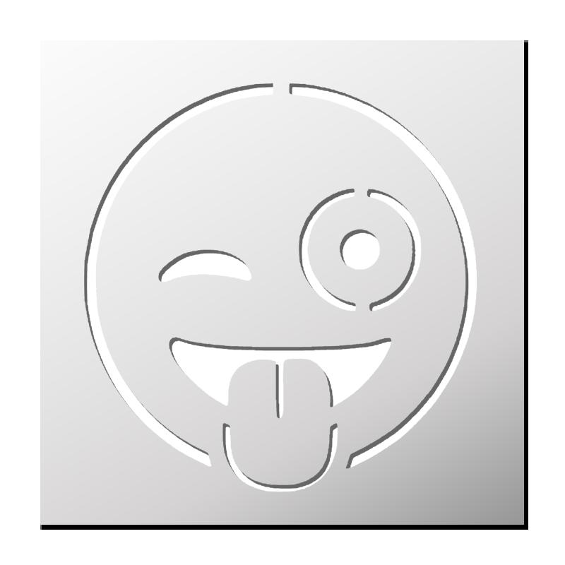 Pochoir Smiley   FrenchIMMO