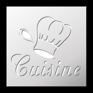 Pochoir Cuisine/Alimentation