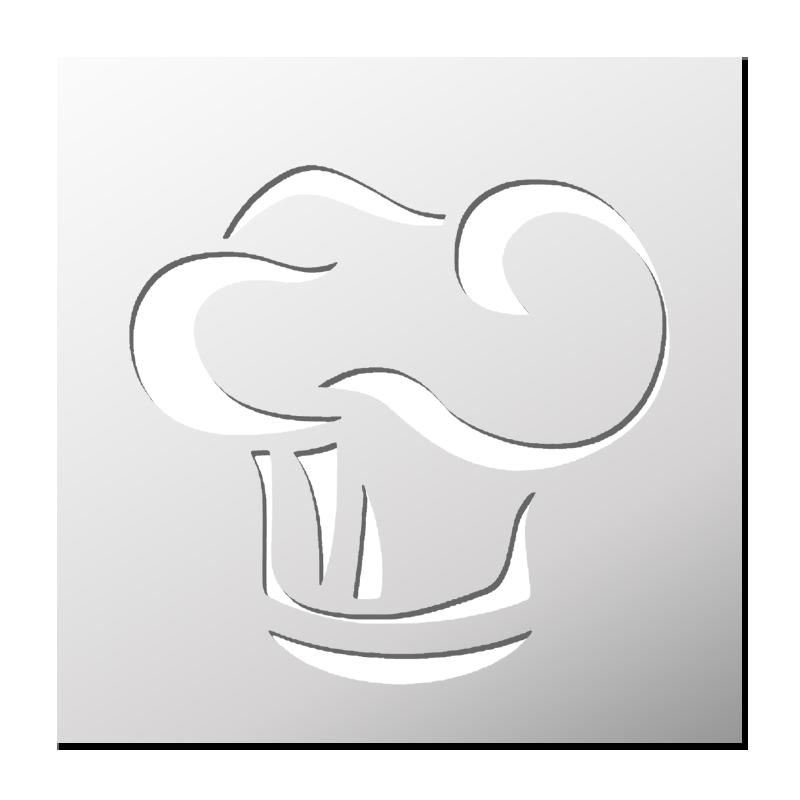 Pochoir Toque Chef De Cuisine Frenchimmo