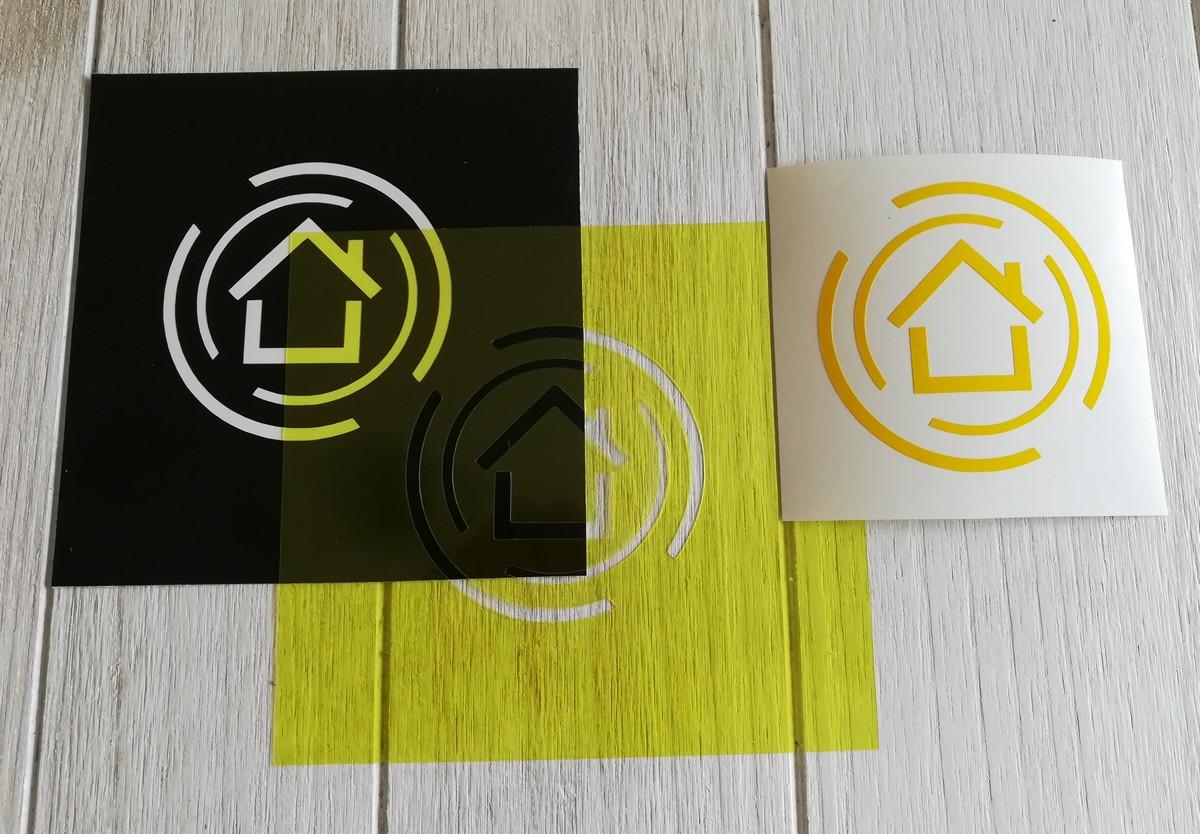 Stickers ou Pochoir de votre logo