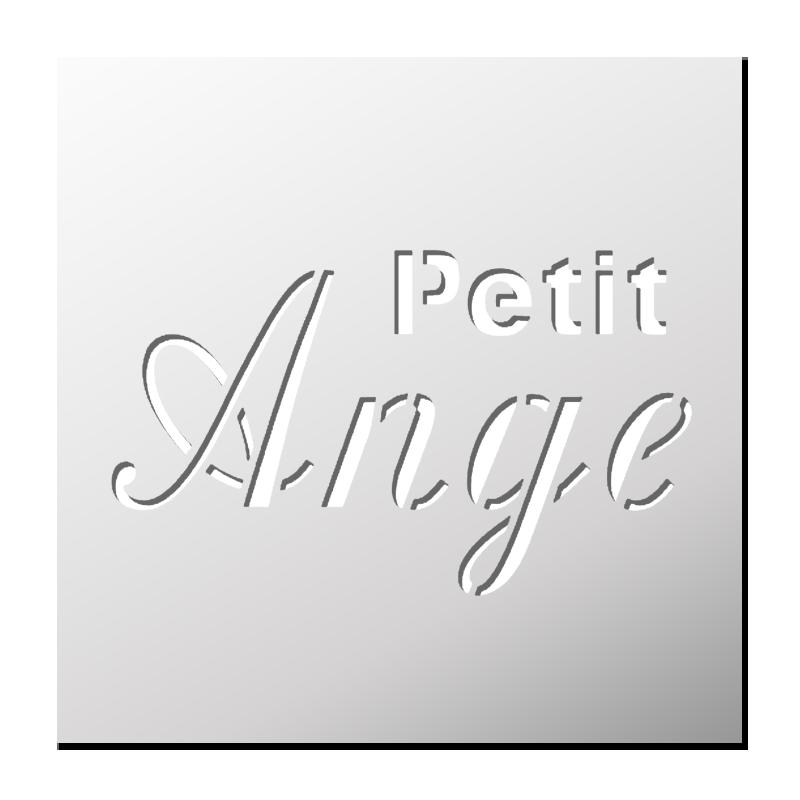 Pochoir Petit Ange Frenchimmo