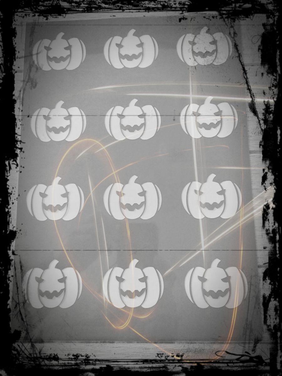 Pochoir déco Halloween
