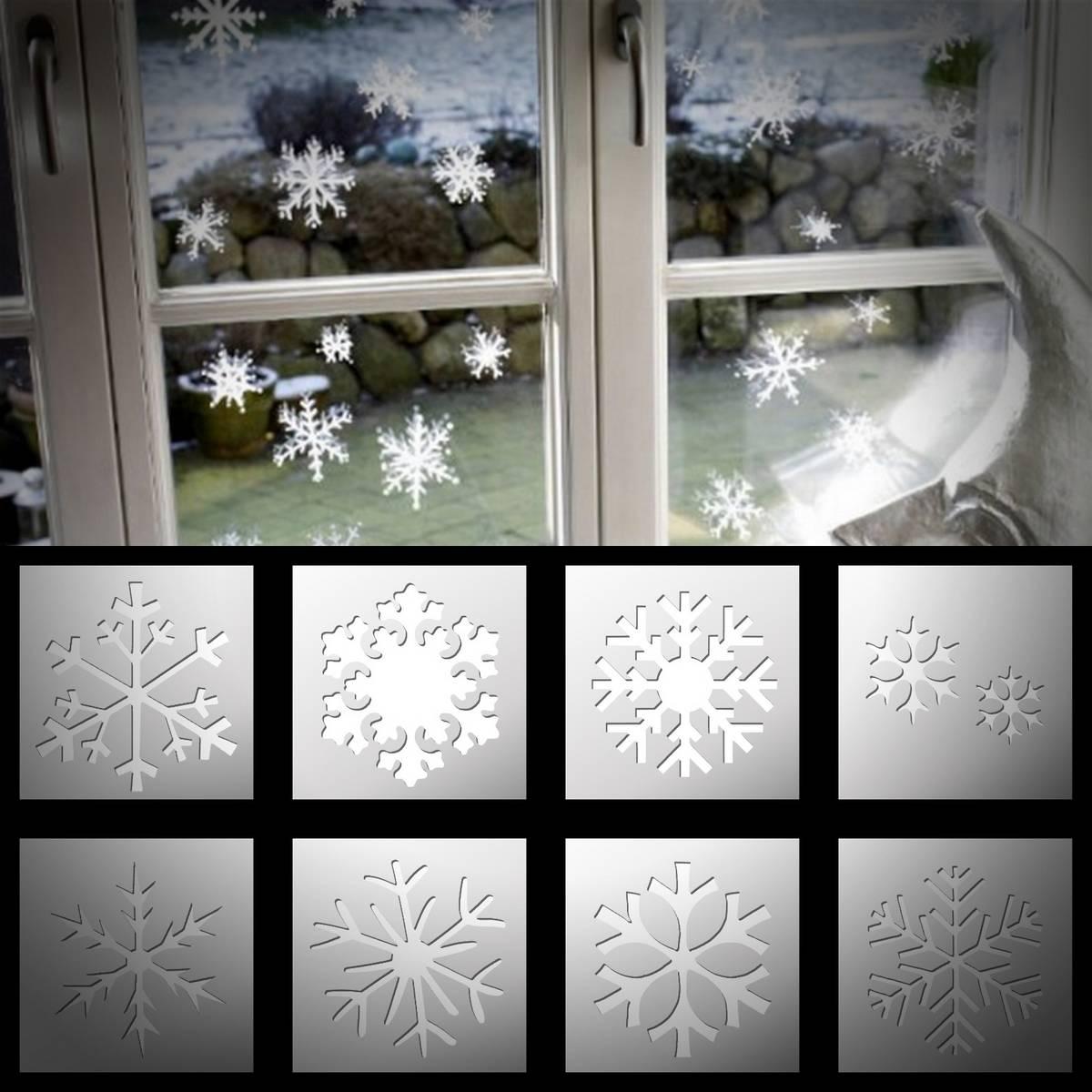 Pochoir Noël pour décorer vos vitres aux meilleurs prix !