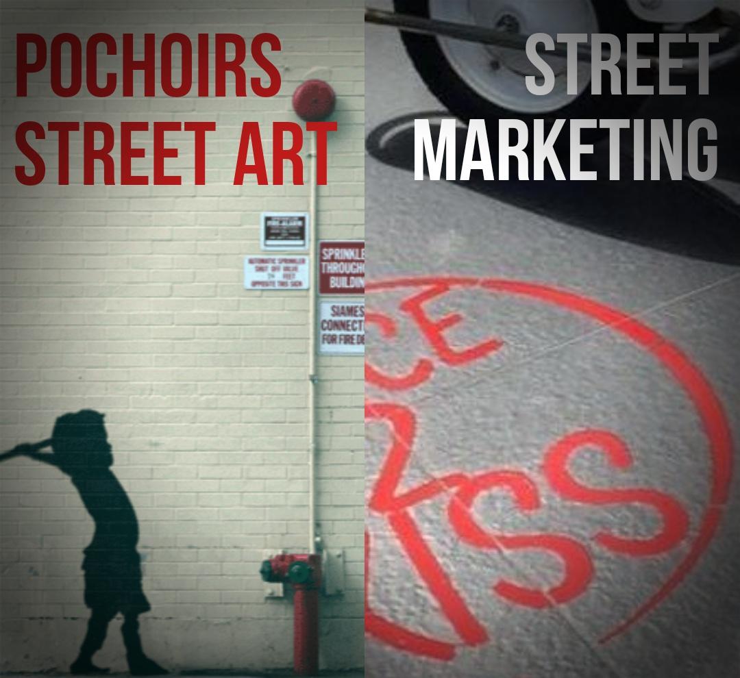 Pochoir sur-mesure Street Art