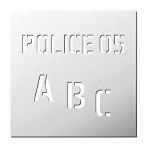 Police 05 (Majuscules, Minuscules, Chiffres)