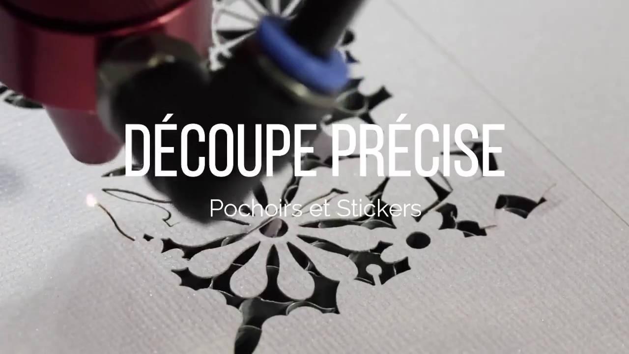 Découpe de précision Pochoirs et Stickers