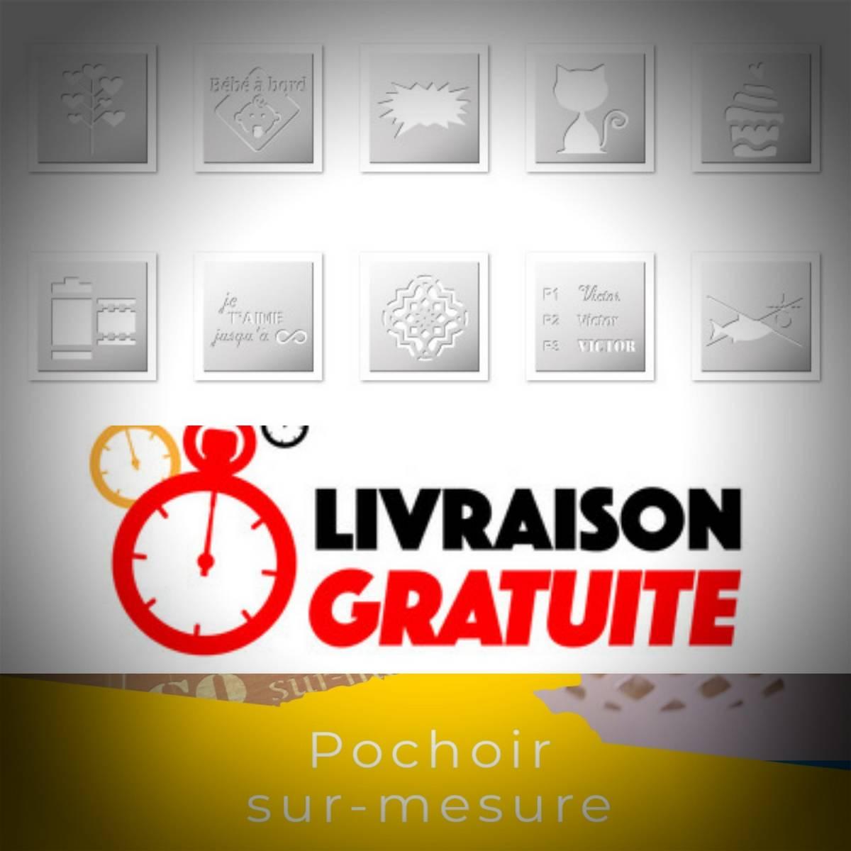 Les nouveautés de la semaine Pochoirs et Stickers FrenchIMMO