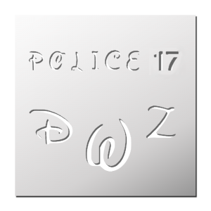 Police 17 (Majuscules)