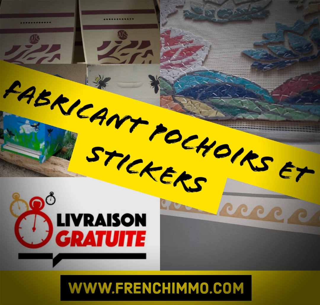 Fabricant de Pochoirs et Stickers