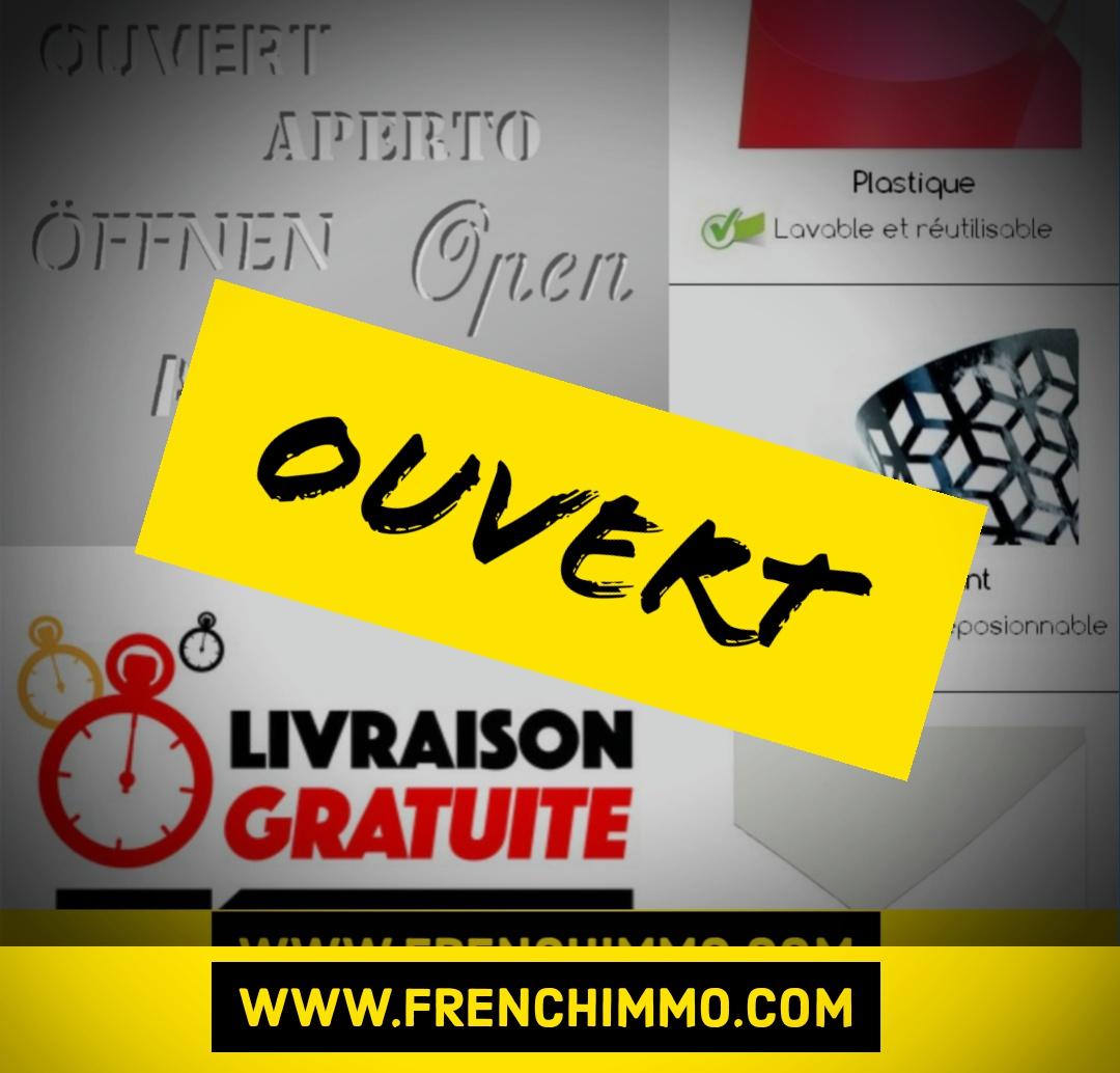 La boutique en ligne FrenchIMMO.com reste ouverte