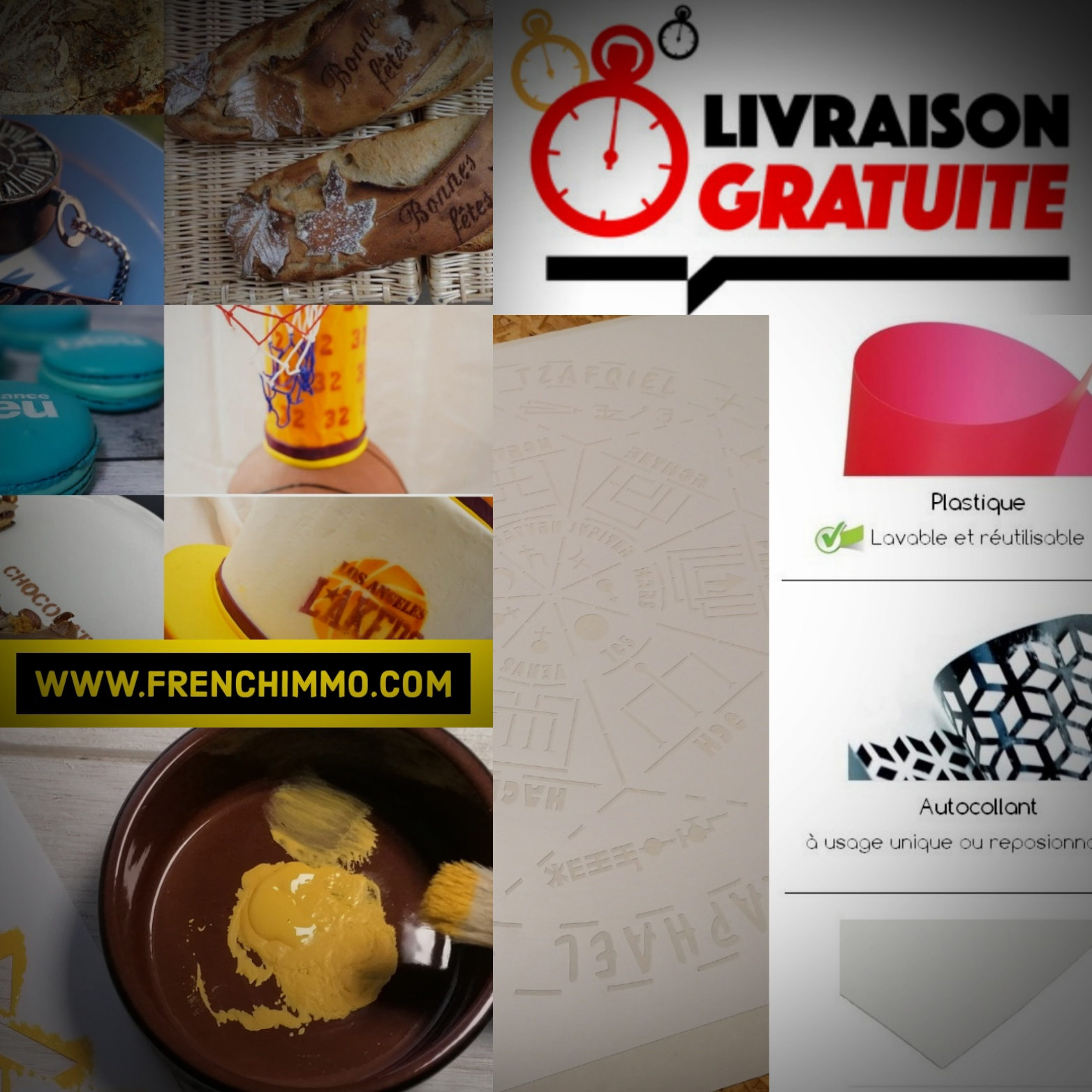 Fabricant de Pochoirs en France