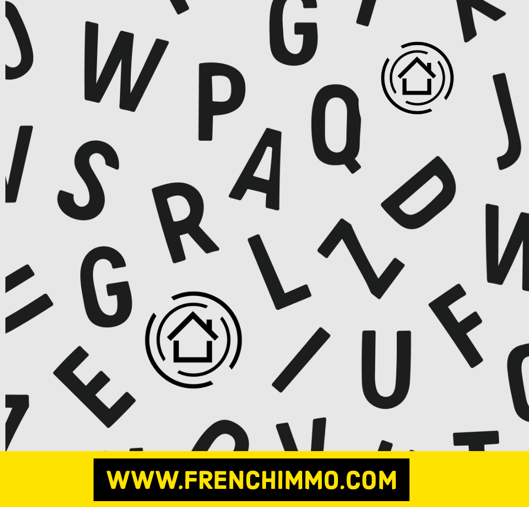 Pochoirs Lettres et Chiffres – Alphabet – FrenchIMMO.com